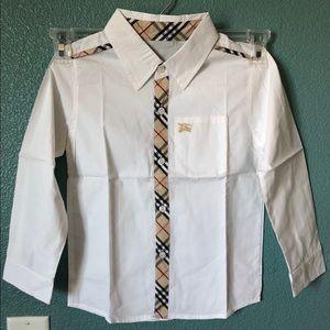 COPY - Boys Burberry dress shirt size 6T